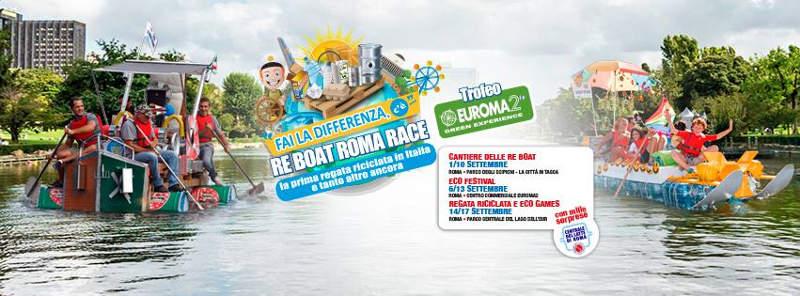 Fai la differenza, c'è… Re Boat Roma Race