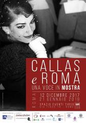 Callas e Roma, Una voce in mostra