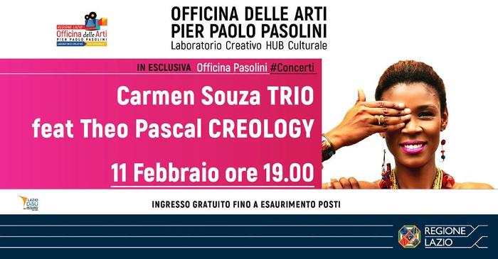 Carmen Souza TRIO feat Theo Pascal