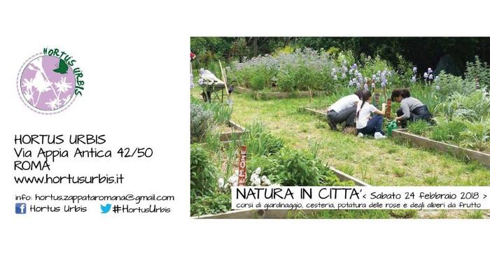 Hortus Urbis - Natura in città